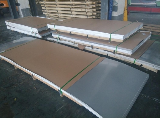 Cold Rolled Stainless Steel Sheet 2b Surface Finish Sheet 304 Construction 304 ss Sheet 0.5mm With Paper
