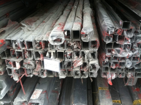 201 stainless steel welded pipe polished outside  , 201 mirror polished SS square pipe