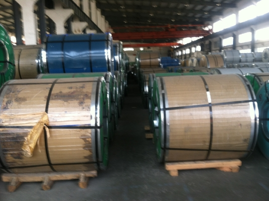 200 Series Stainless Steel Coils Grade 201 202 SS Coils 2B surface,Half Copper Stainless Steel Coil 201