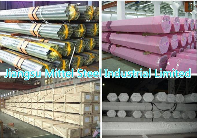8-506mm 316 316 Ti 316l Stainless Steel Seamless Tube , Welded Stainless Steel Round Pipe