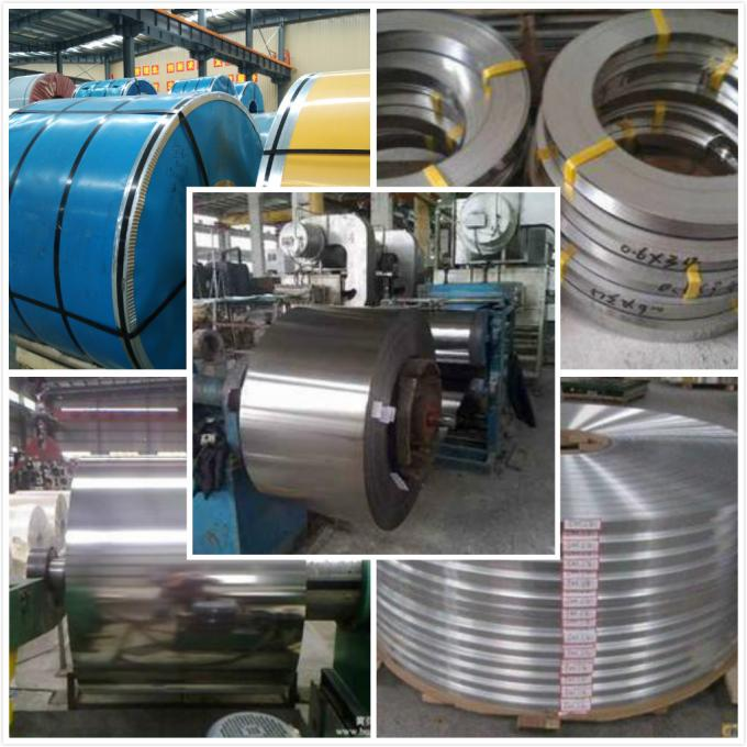 201 304 BA Finish Stainless Steel Coils Strip 0.15mm To 1.5mm , Cold Rolled Stainless Steel Coil