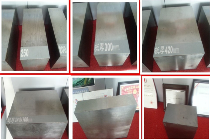 12Mm Q550D Stainless Steel Plates , low alloy cold rolled steel plate
