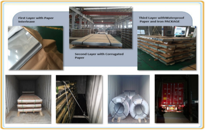 304 Super Duplex Stainless Steel Plate , Stainless Steel Metal Sheet Panels