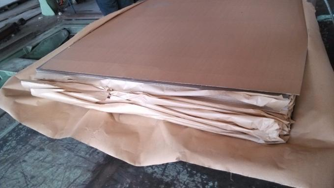 INOX 304 316L 316LN Stainless Steel Sheet Metal