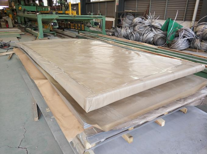 BA 8K 2205 S32750 Super Duplex Steel Plate / Stainless Steel Sheet