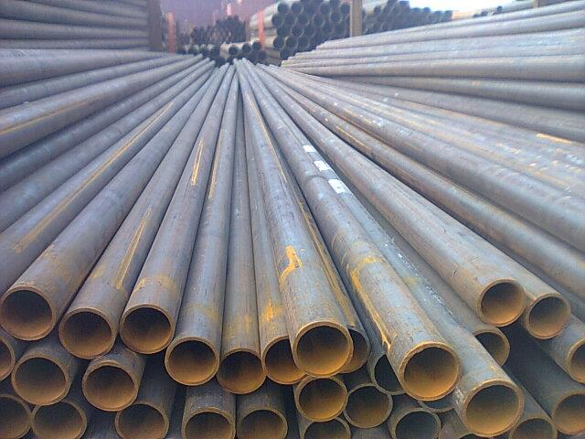 ERW Weld Pipe Q235B Q195B  60*3mm Seamless Steel Pipe 5.8m Length