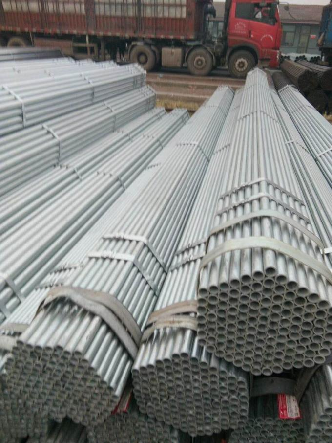 Astm A53 Standard Bs1139 Hot Dip Galvanized Scaffolding Steel Pipe Round