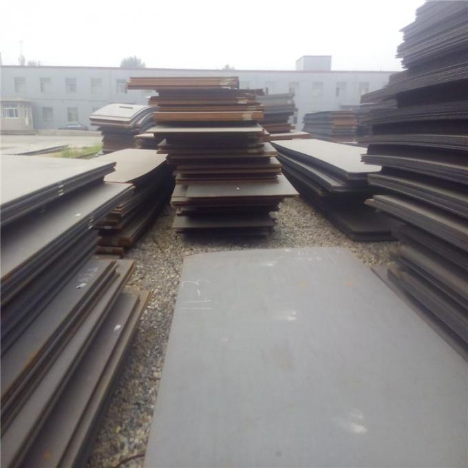 High Strength Hot Rolled Carbon Steel Plate 3mm Thick With Black Painted