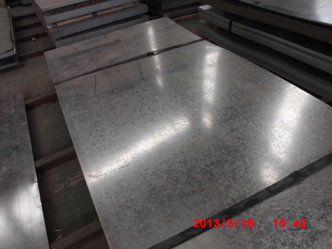 High Carbon Steel Plate Galvanized Surface A Treatment