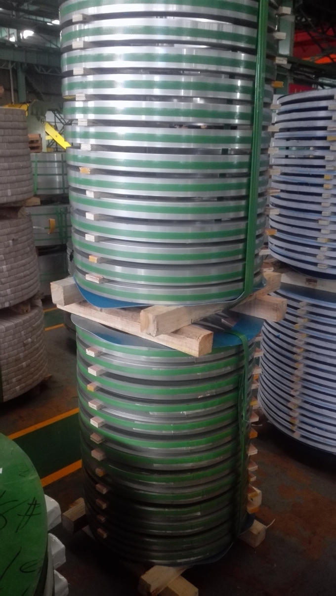 316L Stainless Steel Strip Thickness 0.4-3.0mm 20-1500mm With 2B/BA NO.4 Finish