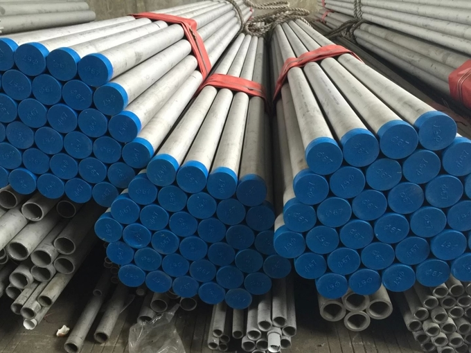 Seamless SS Pipe / Stainless Steel Tubing AISI 904L ASTM A269 B677 ASME SB677 Alloy 1.4539
