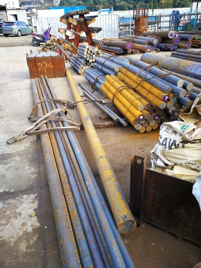 38CrMoAl Steel Round Bar 38Crmoal Alloy Structural Steel Heat Treatment
