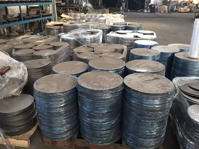 SGS Stainless Steel Circle Cutting 304 Stainless Steel Disc 2B BA Finish OD20-500mm