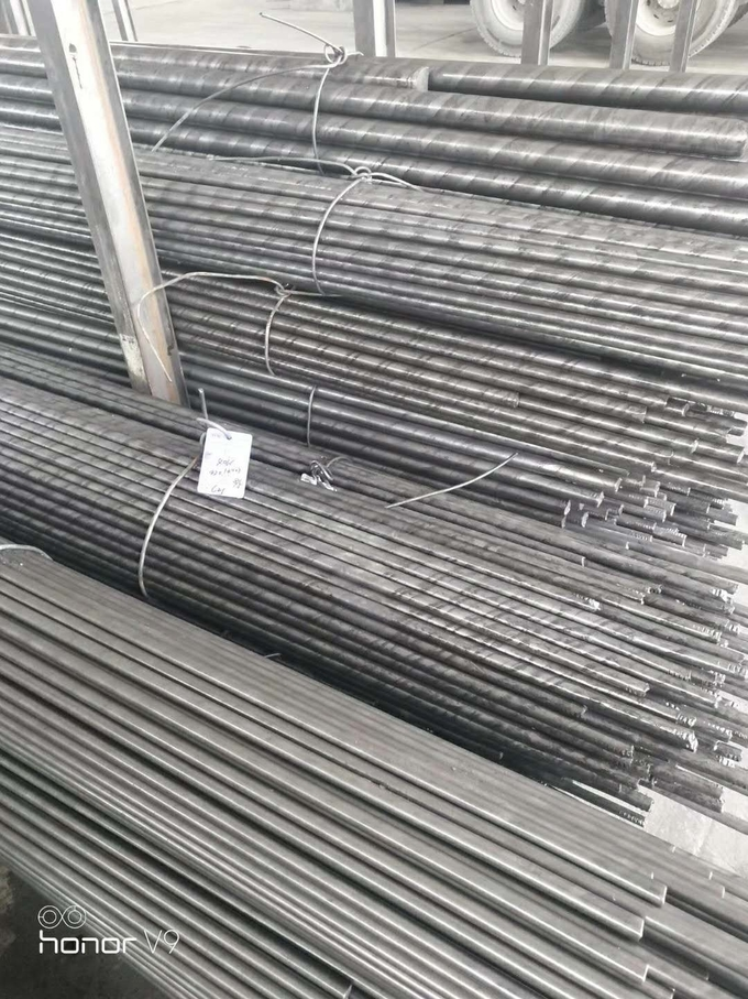 SAE SAE1010 1020 S20C Cold Drawn Steel Bar Round Shaped Bright Surface
