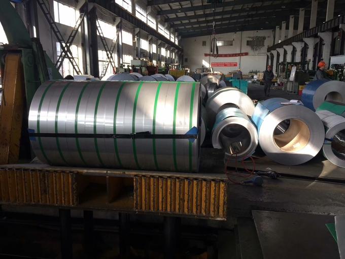STS316TI Stainless Steel Coils For Heat Exchanger , Inox 316Ti Stainless Steel Strip Coil