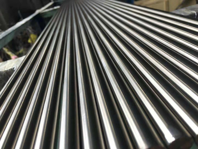 Ss 303 Bright Steel Round Bar Stock Ground Finish 100% Ultrasonic Ok