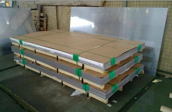 Quenched Hardened Polished Cold Rolled Stainless Steel Sheet Rm 1500MPA Harness 46-49HRC