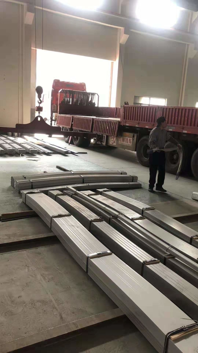 2507 Steel Flat Bar DIN1.4410 UNS S32750 Super Duplex Steel Flat Plate Metal