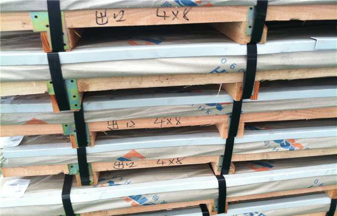 2B BA Finished Inox 430 Stainless Steel Sheet Metal DIN1.4016 1250X2500MM