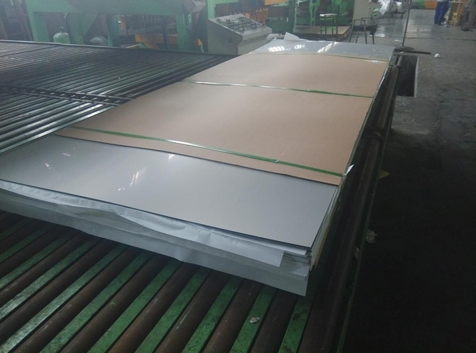 TISCO 304 Cold Roll Stainless Steel Flat Plate 2B Surface 1219*2438mm SS 304 Sheet