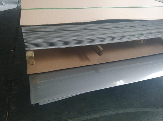202 Cold Rolled Stainless Steel Sheet Stock 2B Surface 0.5 - 3mm Thick 1219x2438mm
