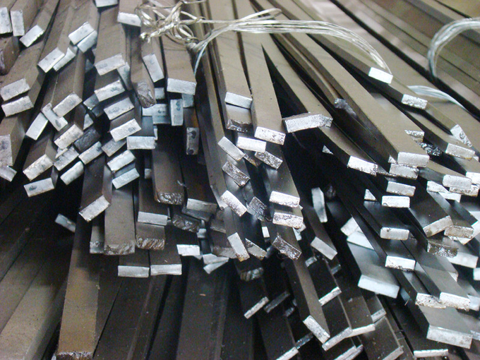 Hot Rolled Metal Flat Bar , SS 316L Mild Steel Flat Bar For Bridges
